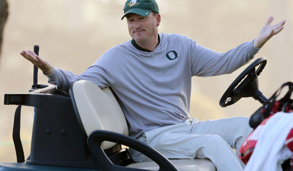 Oregon golf Coach Casey Martin, shown in an undated file photo, clashed with USGA officials over his use of a golf cart at a U.S. Junior Amateur qualifier in Oceanside. Martin suffers from a debilitating birth defect that makes walking painful.