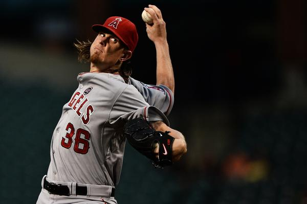 Jered Weaver has a 4.55 ERA in five games since returning from a left elbow fracture.