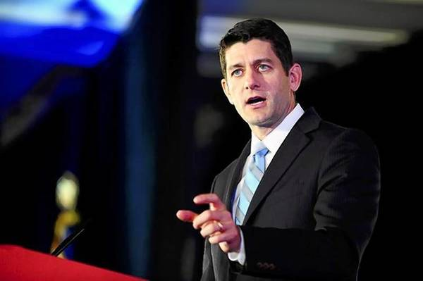 Representative Paul Ryan (R-WI) attends the Faith and Freedom Coalition Road to Majority Conference in Washington