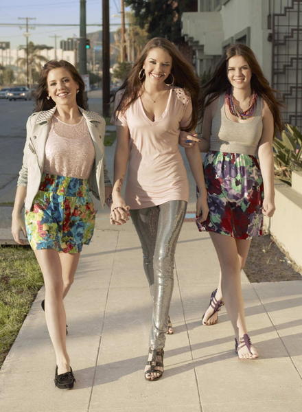 "Tess (from left), Alexis and Gabrielle of ""Pretty Wild"""