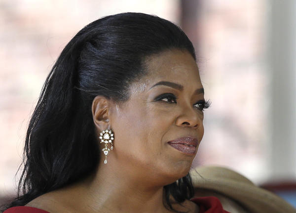 The Oprah Winfrey Network said Wednesday it would offer two longtime soaps. Above, Oprah Winfrey is seen after delivering the commencement address at Harvard University in Cambridge, Mass., in May.