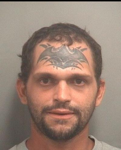 Haroldman Cruz, 31, alias Batman, was arrested and charged with burglary