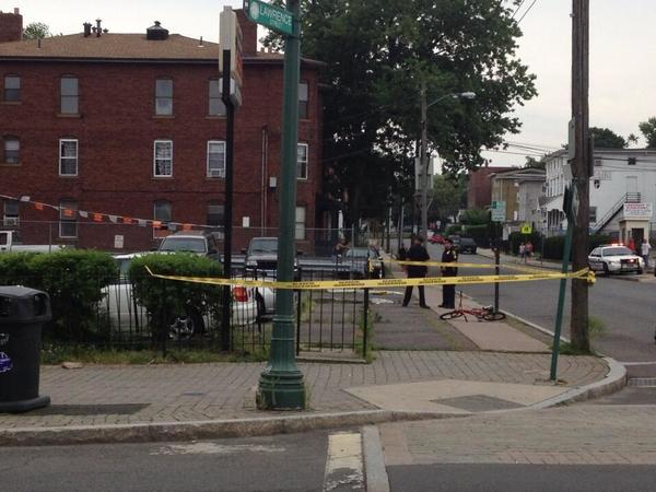 A man was shot on Wednesday at Park and Lawrence streets in Hartford.