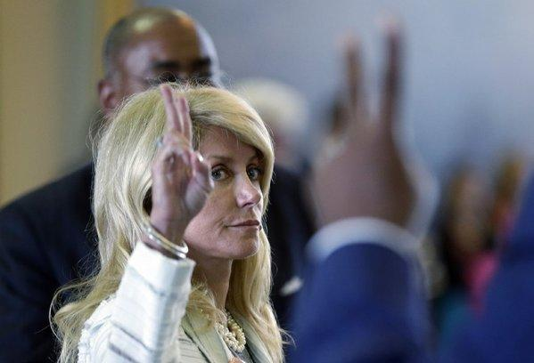 Democratic Texas state Sen. Wendy Davis took the floor of her chamber for 11 hours to filibuster against a measure to restrict abortion rights.
