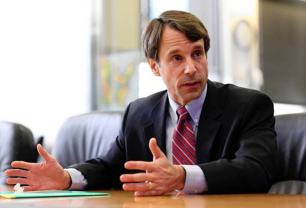 """California Insurance Commissioner Dave Jones opposes closing the renewal loophole in the healthcare law. """"There can always be winners and losers between companies. I'm concerned about changing the rules of the road now,"""" he said."""