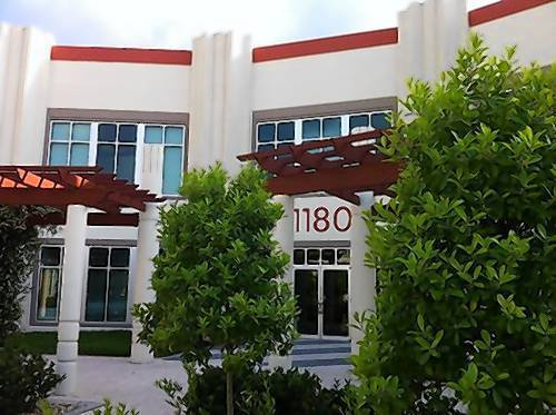 google inc office. This Office Building In Downtown Celebration Houses The Headquarters For Channel Intelligence Inc., Which Google Inc G