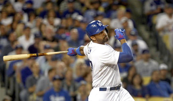 Matt Kemp was out of the Dodgers' lineup Wednesday as part of a scheduled day off, according to Manager Don Mattingly.