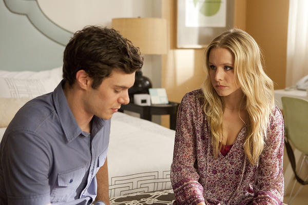 "Adam Brody and Kristen Bell in a still from ""Some Girl(s)."""