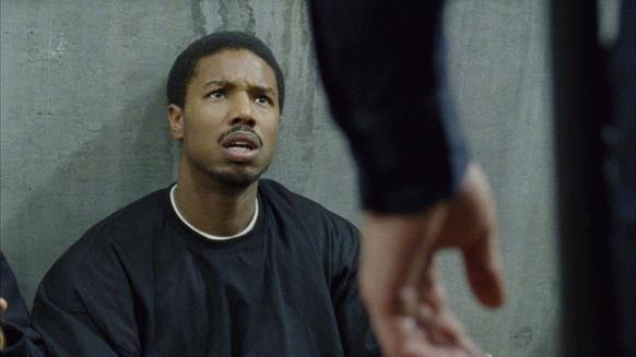 "Michael B. Jordan in a scene from ""Fruitvale Station."""