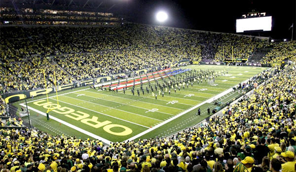 Oregon has been stripped of a scholarship for the next two seasons, and the program has been placed on probation for the next three years.