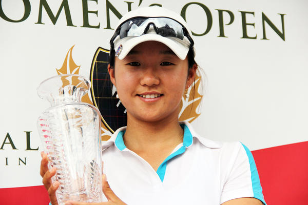 Inhong Lim of Australia won the 20th Michigan PGA Womens Open Wednesday in a playoff.