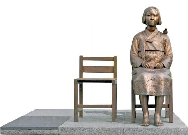 The Korean Sister City Assn. plans to install a $30,000 statue that weighs 1100 pounds in Central Park next month.