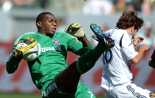 Chicago Fire goalkeeper Sean Johnson will play for the U.S. Gold Cup teamm.