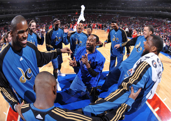 Gilbert Arenas, center, a former player for the Washington Wizards, was arrested Thursday morning on suspicion of illegal possession of fireworks.