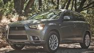 Mitsubishi recalls more than 3,000 Outlander Sports for sunroof fix