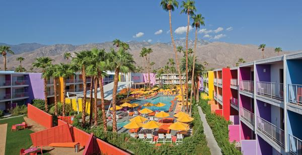 The Saguaro in Palm Springs, one of the sites of the Splash House dance music event.