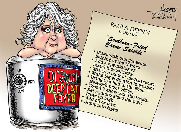 Horsey on Hollywood: Paula Deen