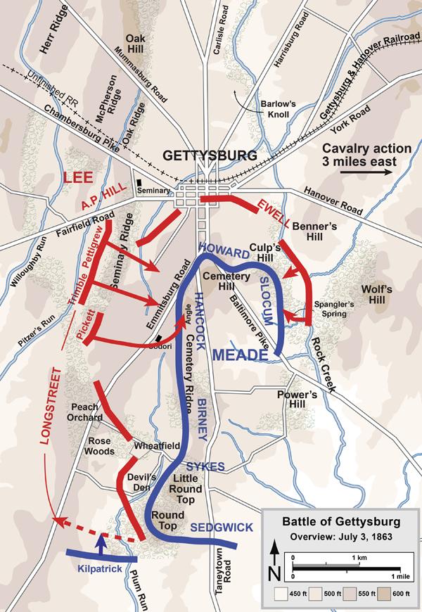 Battle Of Gettysburg - Day 3