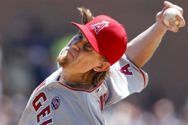 Jered Weaver allowed one run and seven hits with six strikeouts and two walks in seven innings during the Angels' 3-1 10-inning victory over Detroit on Thursday.