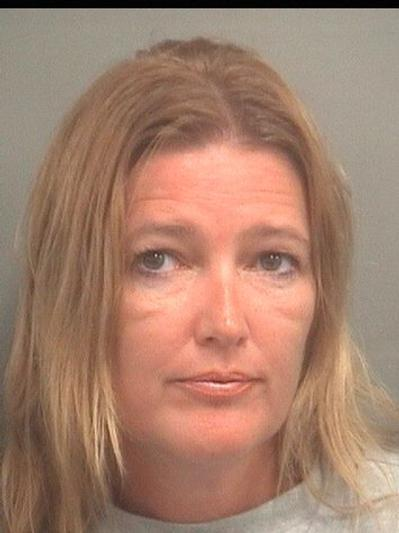 Kathleen Plunkett, 45, of Lake Worth, is charged with fraud and larceny.
