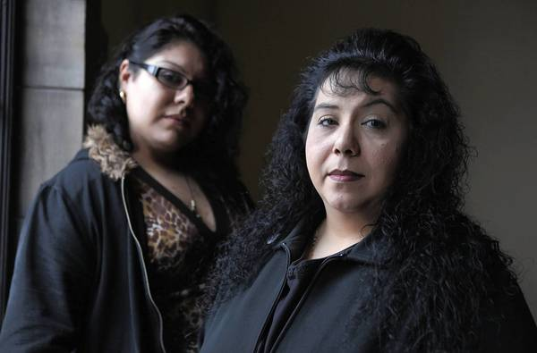 Deyanira Alvarez, left, and Karen Leyva, were among the workers who sued Rolf's Patisserie after its abrupt closing.