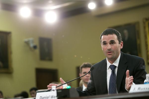 Daniel Werfel, shown in early June, was criticized during a House committee hearing Thursday for his handling of an internal review of how the IRS flagged progressive groups and tea party organizations.