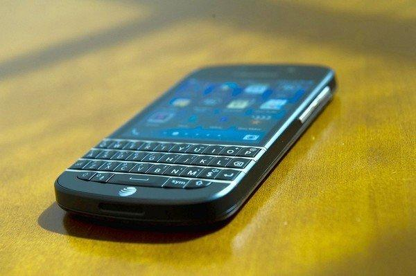 BlackBerry's Q10 smartphone, which debuted in U.S. stores this month, features the much-loved Qwerty keyboard.