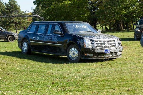 "Limo from ""White House Down"""
