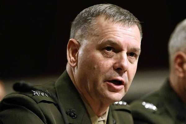 General James E. Cartwright, USMC Vice Chairman of the Joint Chiefs of Staff, testifies before the Senate Armed Services Committee.