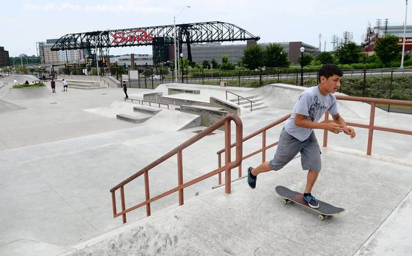The Skateplaza is one of the locations where Bethlehem plans to set up mobile carts.