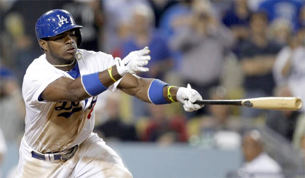 Rookie outfielder Yasiel Puig is hitting .427 with seven home runs and 16 runs batted-in for the Dodgers in 23 games.
