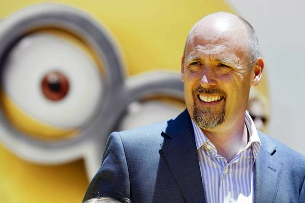 Director Chris Renaud poses at the American premiere of the animated film 'Despicable Me 2' at Universal CityWalk and Gibson Amphitheatre in Universal City, Calif. June 22.