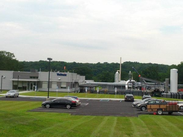 The Voltaix plant in Upper Mount Bethel Township