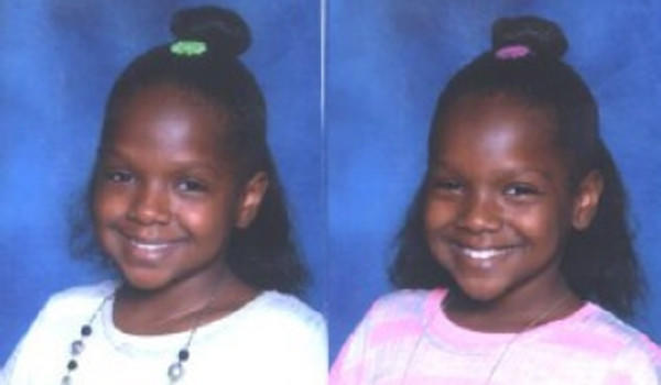 Tiara and Ciara Johnson, age 9, disappeared from the Ashburn neighborhood on Thursday.