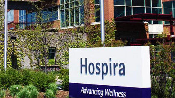The Lake Forest headquarters of Hospira.