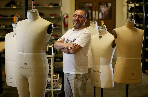 """A portrait of Barrie Kosky, the director of """"Magic Flute, """" at the Costume Shop in Los Angeles."""