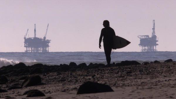 California Offshore Oil Platforms : Oil drilling off santa barbara coast house republicans