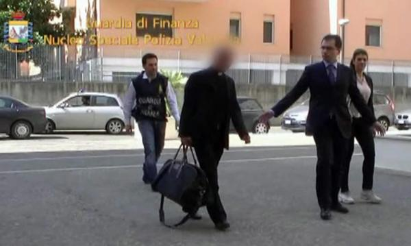 Arrested Vatican cleric allegedly smuggled $26 million into Italy