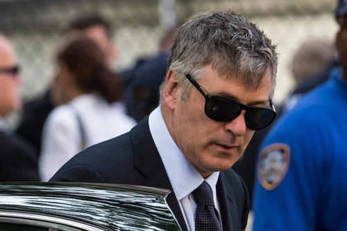 """<br>Alec Baldwin went on a homophobic, profanity-laden online rant in late June before shutting down his Alec Baldwin Foundation Twitter account, all in defense of his pregnant wife, Hilaria, whom a Daily Mail reporter had apparently errantly accused of tweeting while the couple attended James Gandolfini's funeral. <br><br> Baldwin called Daily Mail writer George Stark a """"toxic little queen"""" and """"lying little bitch,"""" and suggested Stark would enjoy forcible sodomy -- specifically a foot up the rear. The actor also threatened to find the writer and mess him up, only in more profane terms.  <br><br> All this against the backdrop of the tweeting story being off-base in the first place: Hilaria and Alec had left the funeral discreetly through a side door about 45 minutes in, after the eulogies but before Communion. The yoga instructor hadn't even had her phone with her, she said on Twitter. Turns out the writer didn't consider time zones when looking at time stamps on the tweets.  <br> <br /> MORE: <a href=""""http://www.latimes.com/entertainment/gossip/la-et-mg-alec-baldwin-twitter-rant-meltdown-gandolfini-funeral-20130628,0,356144.story"""">Alec Baldwin loses it in Twitter rant, hurls homophobic slurs</a>"""