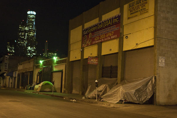 Downtown L.A. homeless