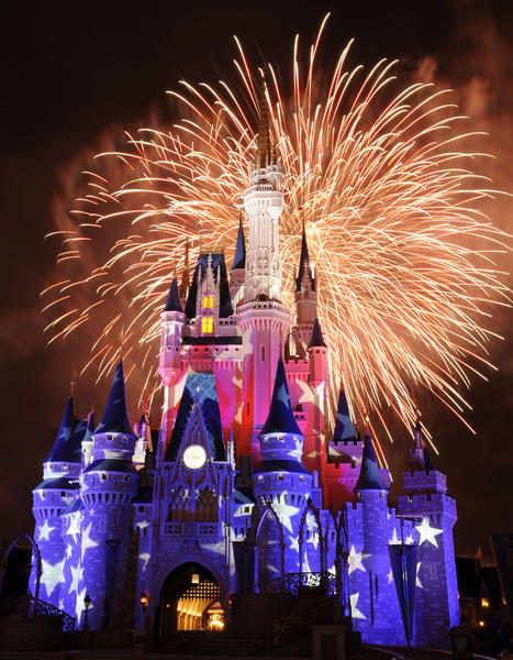The July 4th fireworks typically are one of the most elaborate nighttime spectacles ever seen at a Disney theme park.