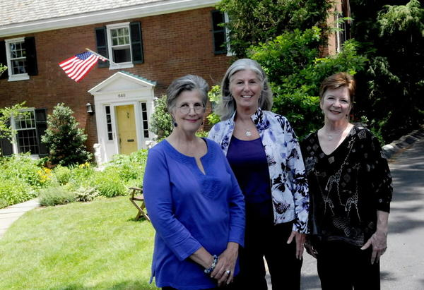 Louise Machinist, from left, Karen Bush and Jean McQuillin bought a house in Mount Lebanon, Pa., and worked with a lawyer to form a general partnership that owns the property.