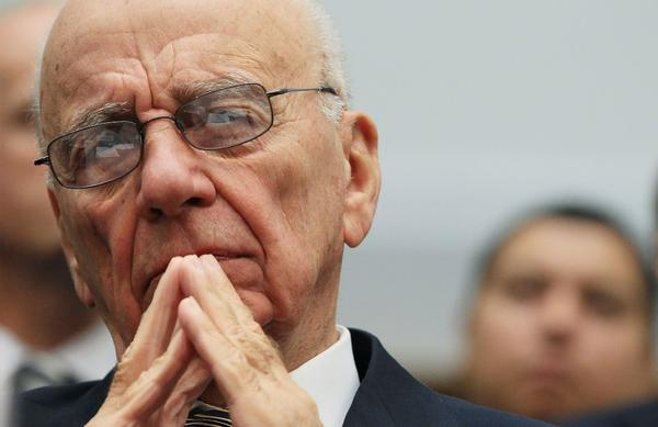 Rupert Murdoch will serve as executive chairman of both News Corp. and the new 21st Century Fox. He also will be chief executive of Fox, the larger of the two.
