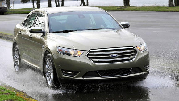 A 2013 Ford Taurus