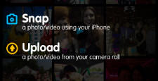 The SnapShots app for iPhone, iPad and iPod touch allows users to share their media more easily.