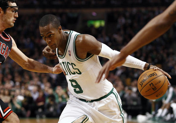 Rajon Rondo will need big shoulders to carry the Celtics.