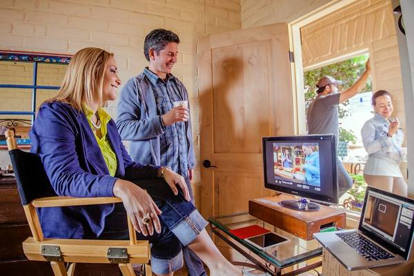 "With husband and partner Doug Greiff, Beatriz Acevedo heads MiTu Network, which provides Spanish-language lifestyle programs on YouTube. ""Doug and I work great as a team,"" Acevedo said."