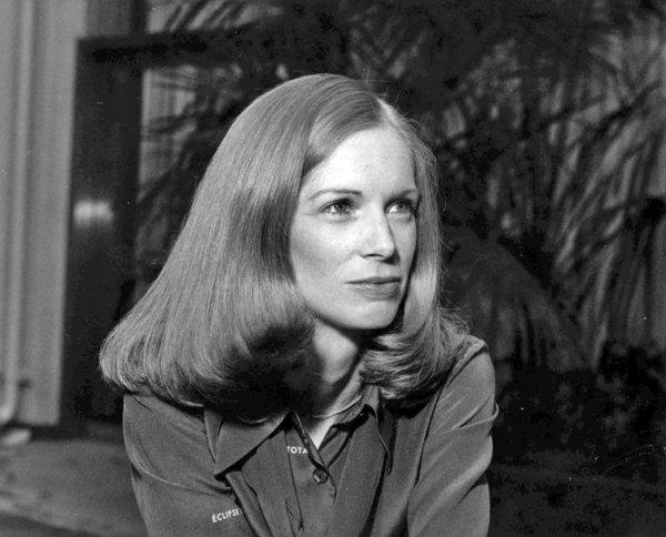 Elisabeth Coleman in 1977, when she was serving as press secretary to Gov. Jerry Brown. Coleman, 68, died June 20 after a short illness.
