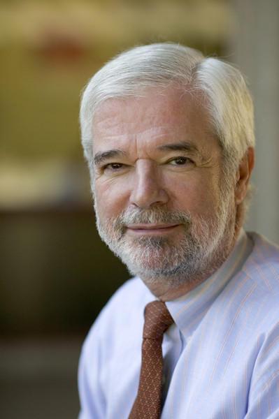 Goucher College President Sanford J. Ungar in 2004.