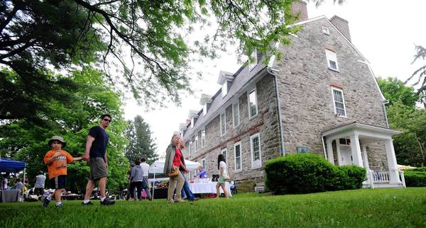 The Whitefield House in Nazareth will offer activities for families on Sundays.